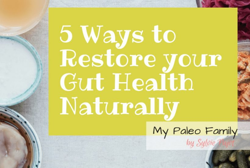 5 Ways to Restore your Gut Health Naturally and Why It Matters