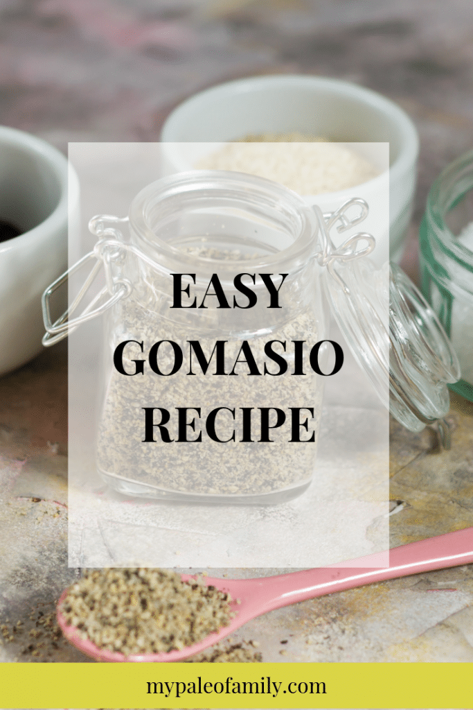 Gomasio Recipe