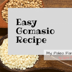 Easy Gomasio Recipe