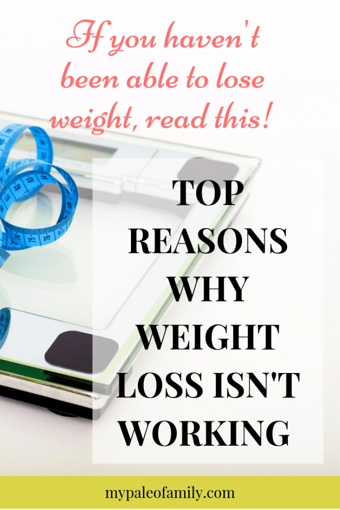 Why Weight Loss Isn't Working