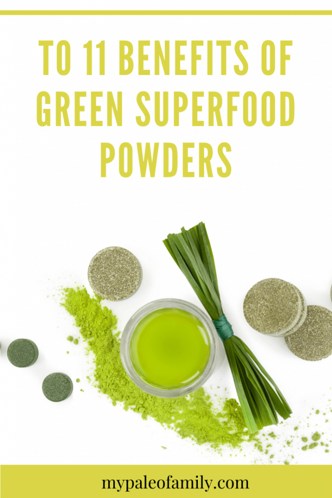 benefits of green superfood powders