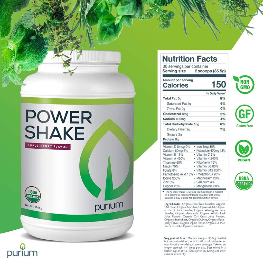 Power Shake Purium
